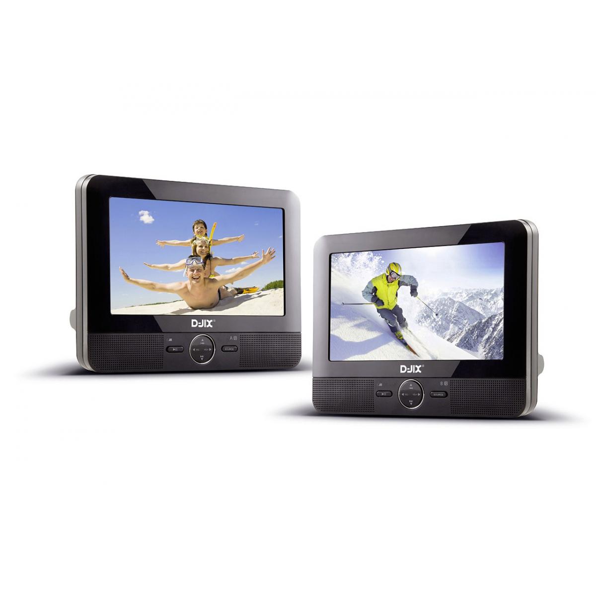 lecteur dvd portable 7 double lecteur pvs 705. Black Bedroom Furniture Sets. Home Design Ideas