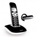 Téléphone DECT main libre + Oreillette DECT - Soly 250 Duo