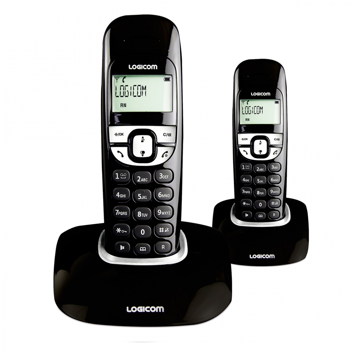 t l phone dect main libre soly 250 duo produits t l phonie r sidentielle logicom. Black Bedroom Furniture Sets. Home Design Ideas