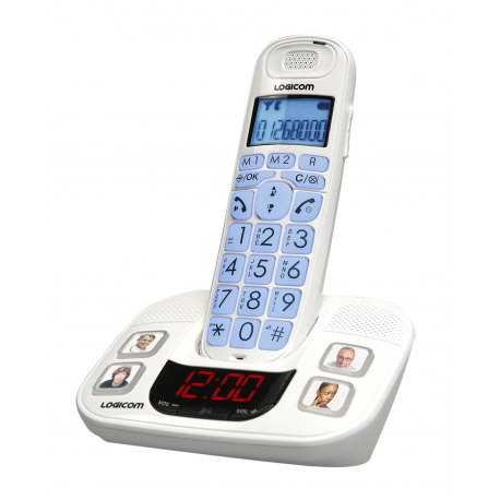 Dect Grandes Touches Avec Photos Blanc