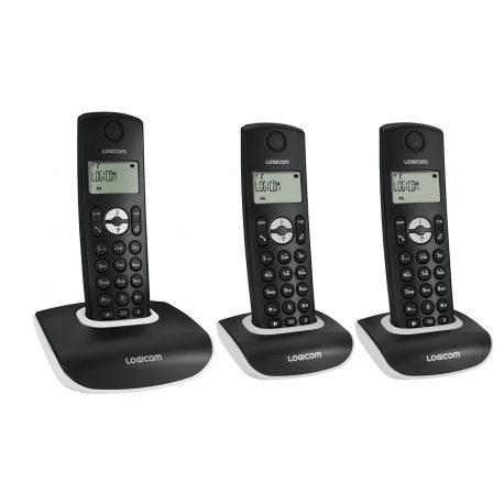 Téléphone DECT main libre trio - Nova 353