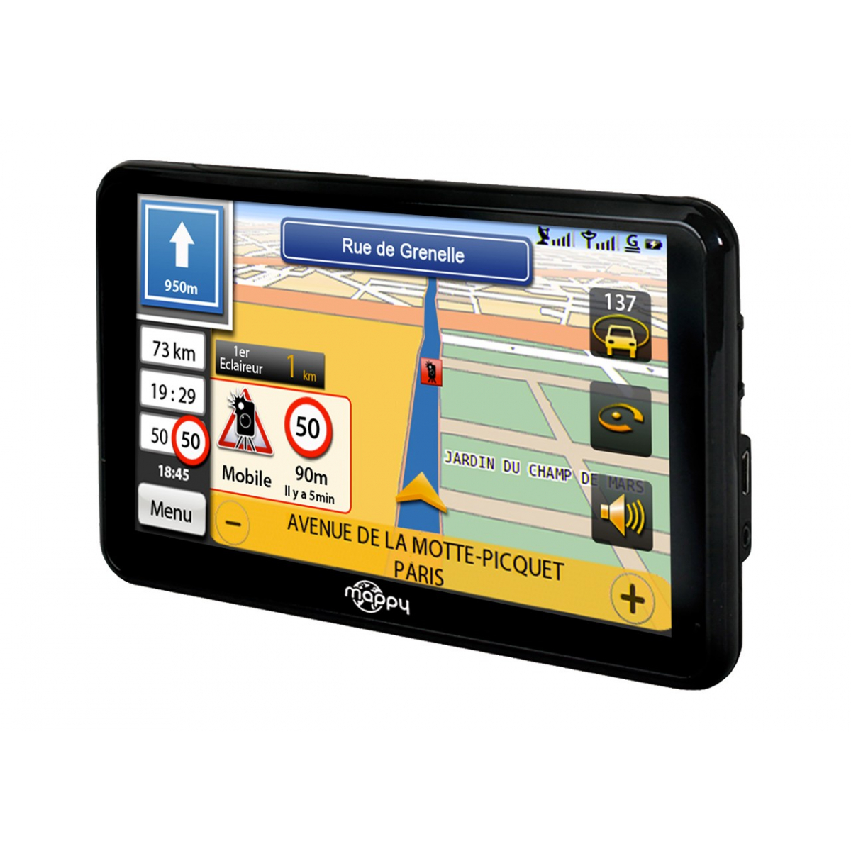 gps mappy ulti 590 connect 5 europe produits gps auto mappy. Black Bedroom Furniture Sets. Home Design Ideas