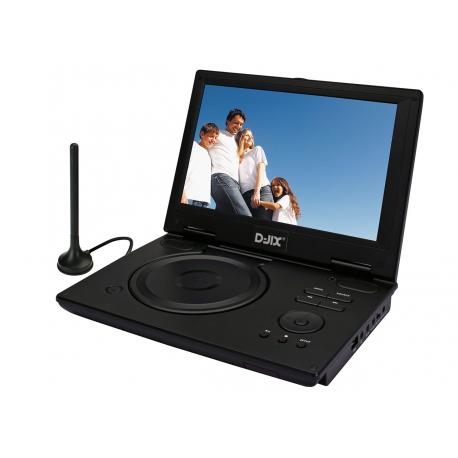"""Lecteur Dvd Portable 10.2"""" Tnt Pvs 1005-80Htnt"""