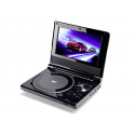 """Lecteur Dvd Portable Ecran Rotatif 7"""""""