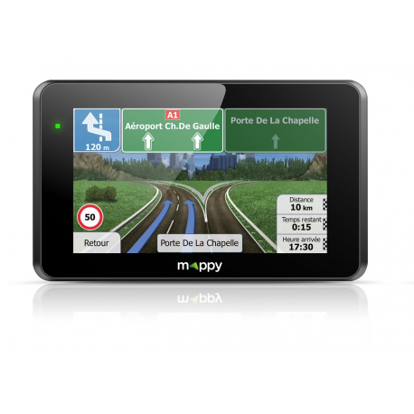 "Gps Mappy Ulti E518 5"" Europe Light Carte A Vie"