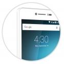 Smartphone 5'' 3G Quadcore 4Go Google Play L-EMENT 503