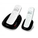 Téléphone DECT répondeur + combiné avec double position de chargement - Manta 255T