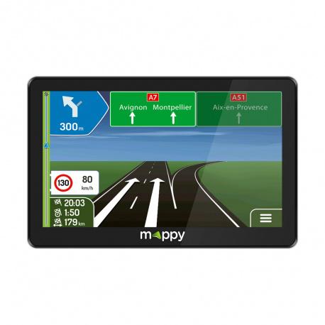 Gps 7 Mappy Maxi E738 Car Gps Products Mappy Logicom